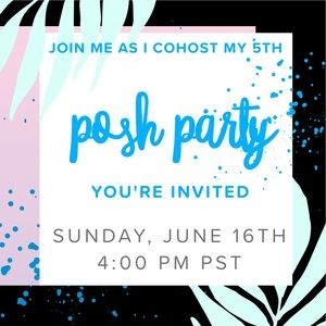 Join me as I host my 5th Poshmark Party